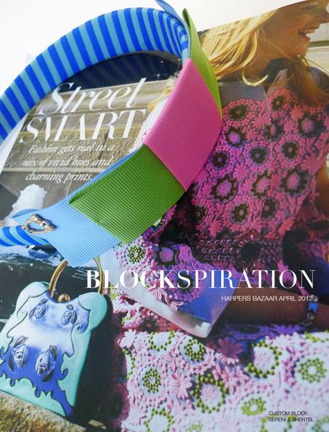 Blockspiration Harpers Bazaar