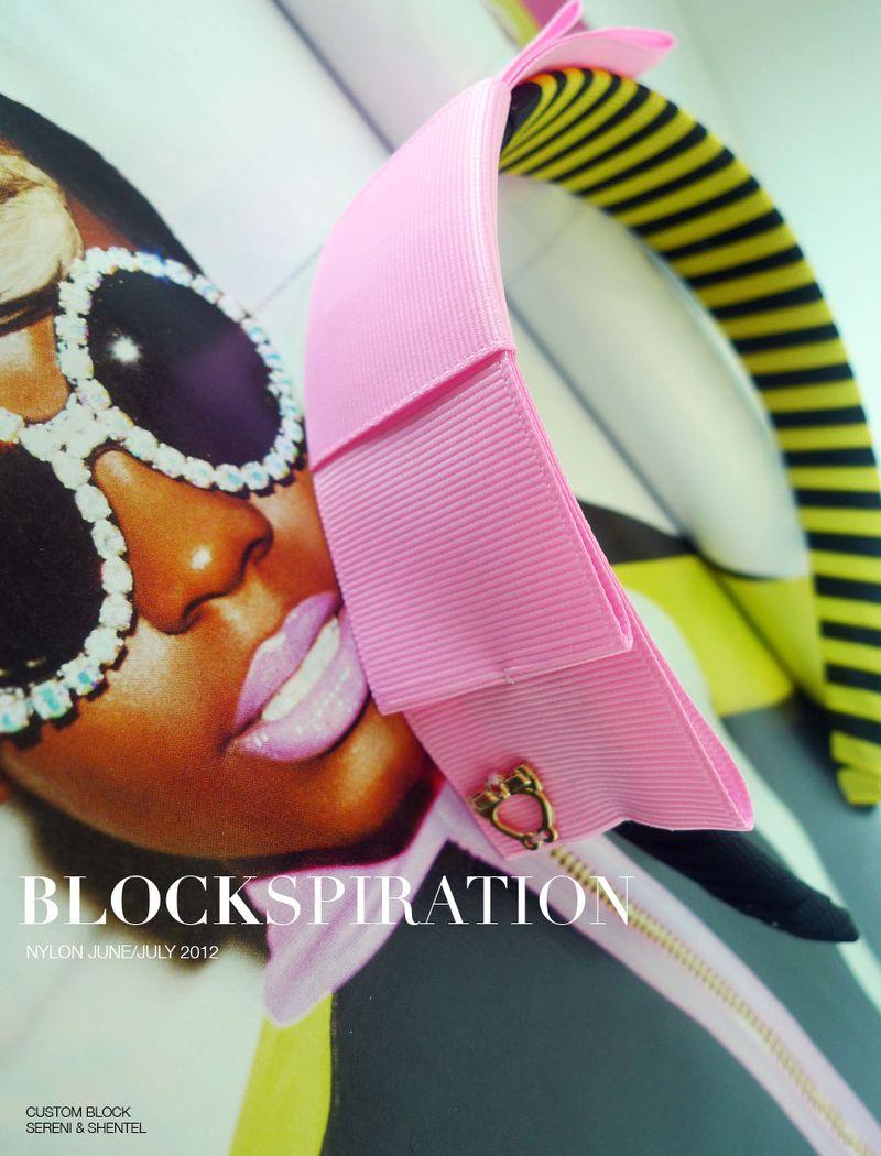 Blockspiration Nylon June-July 2012