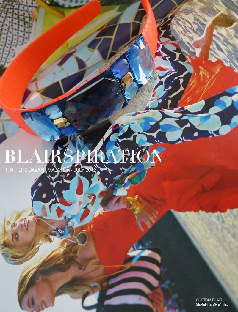 Blairspiration Harpers Bazaar July 2012