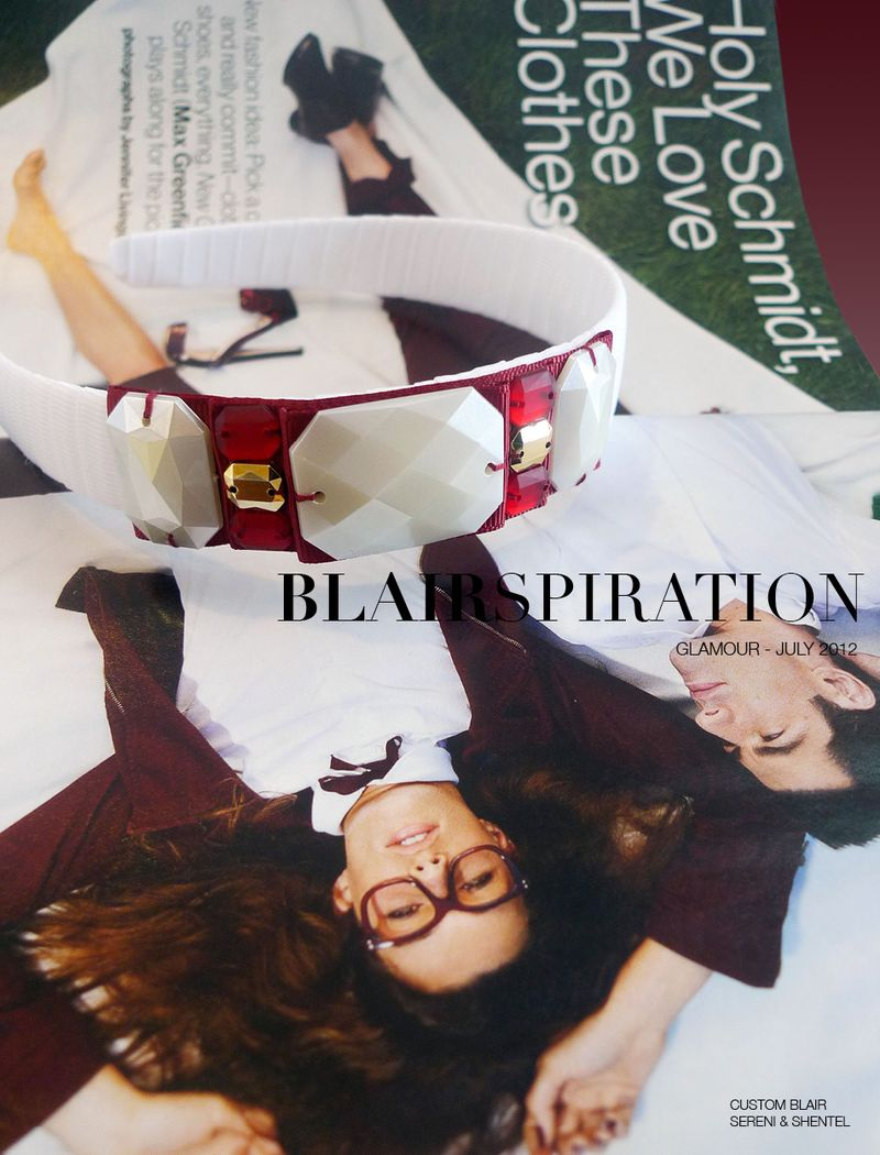 Blairspiration Glamour July 2012