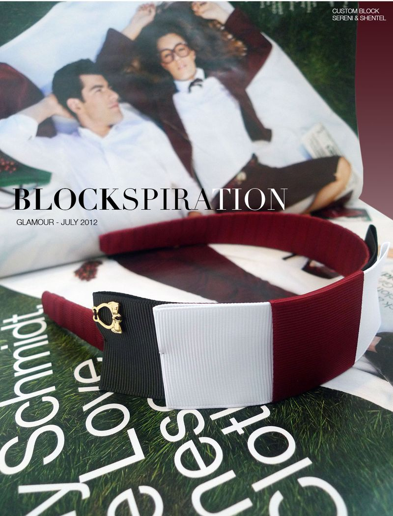 Blockspiration Glamour July 2012