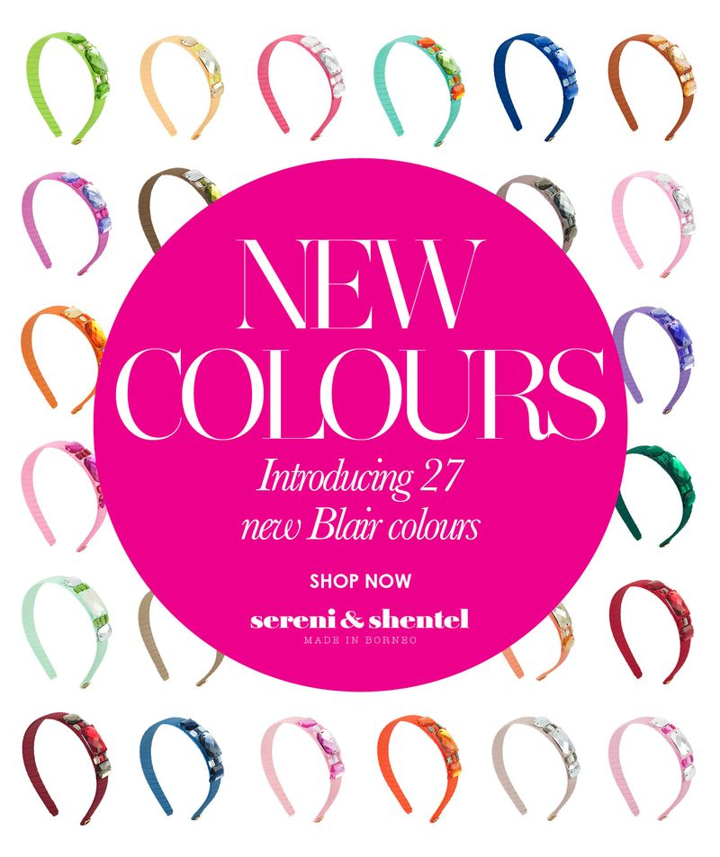 NEW Blair New Colours