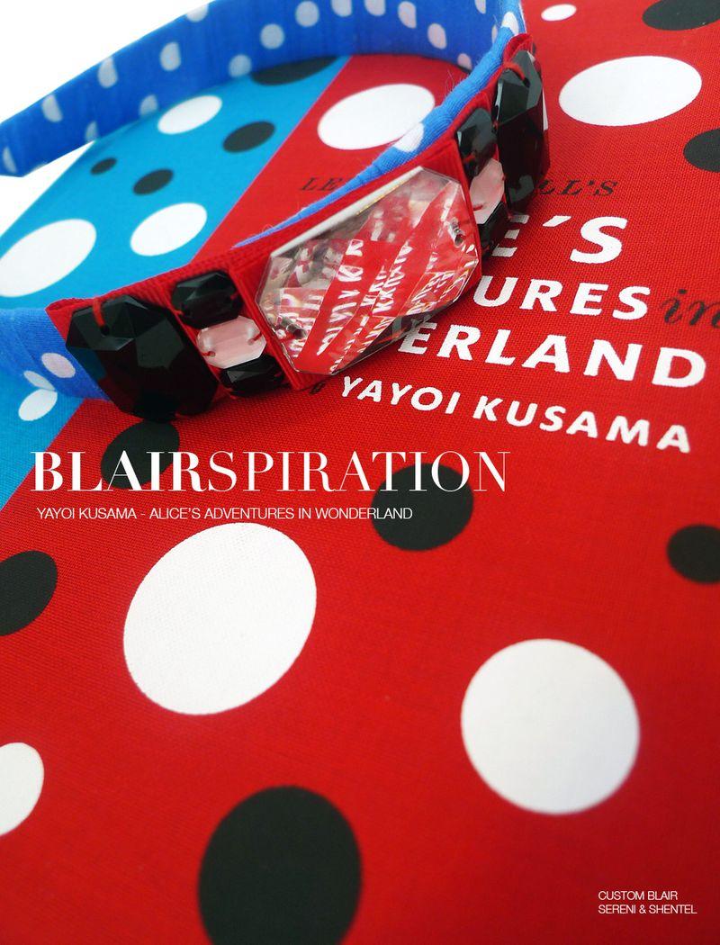 Blairspiration Yayoi Kusama Alice1