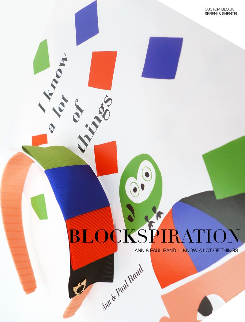 Blockspiration Ann & Paul Rand I Know A Lot Of Things 1