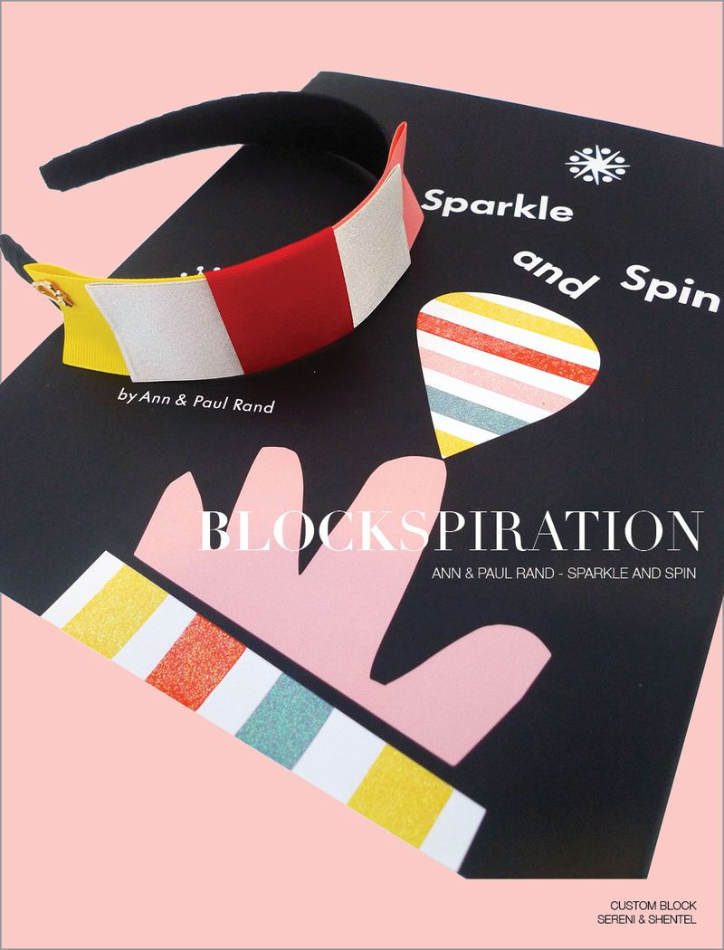 Blockspiration Ann & Paul Rand Sparkle and Spin