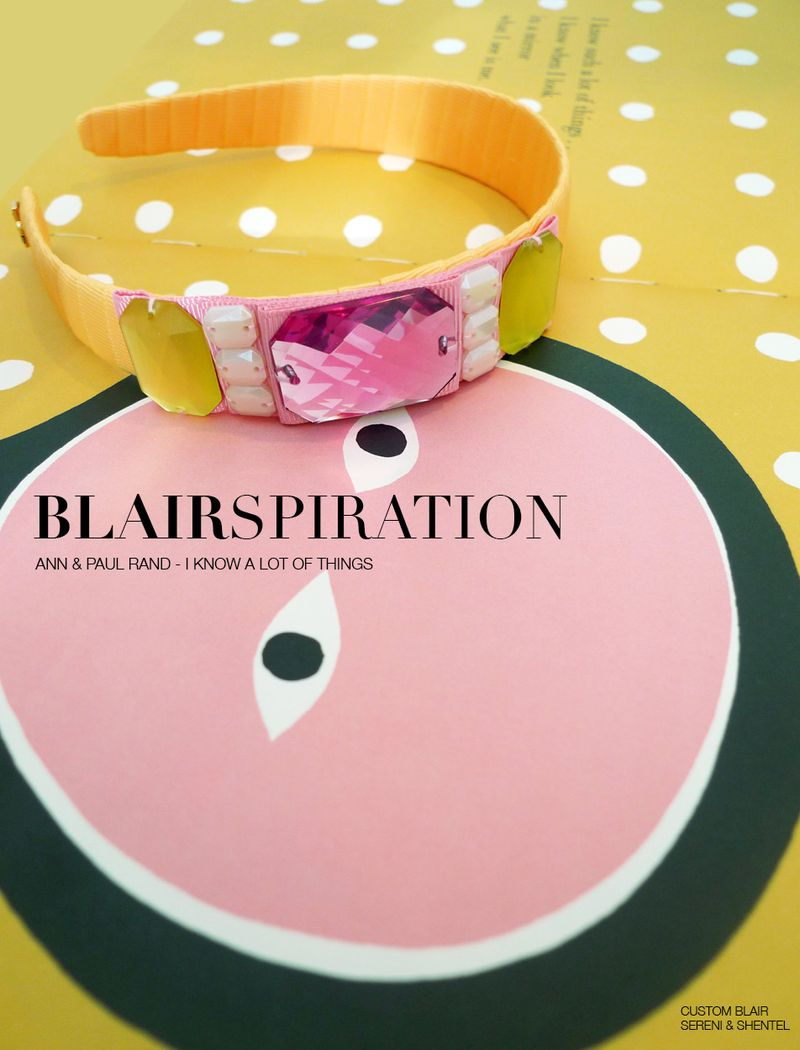 Blairspiration Ann & Paul Rand I Know A Lot Of Things 1