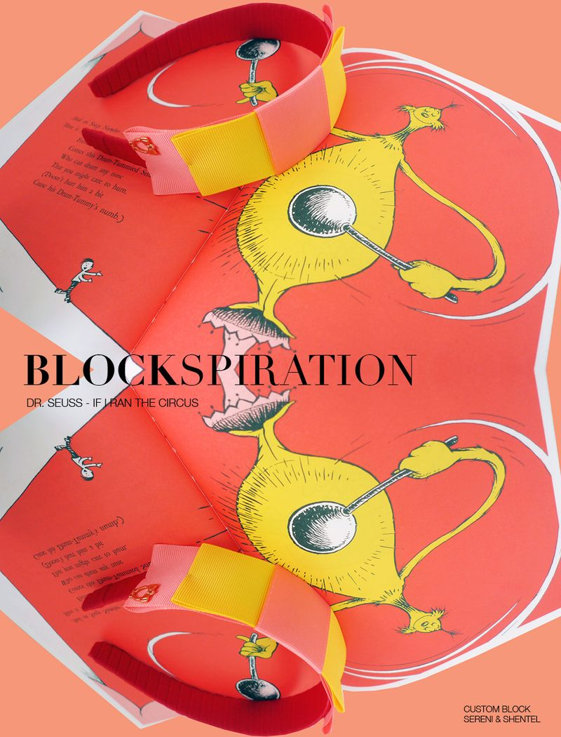 Blockspiration Dr Seuss If I ran the circus